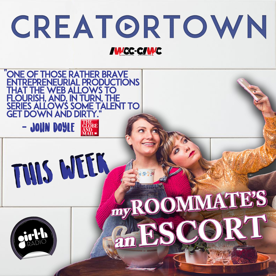 Trish Rainone and Katie Uhlmann star in the new digital series My Roommate's an Escort.