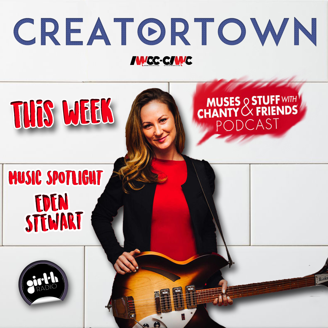 Chanty Creator of Muses and Stuff Podcast drops by Creatortown.