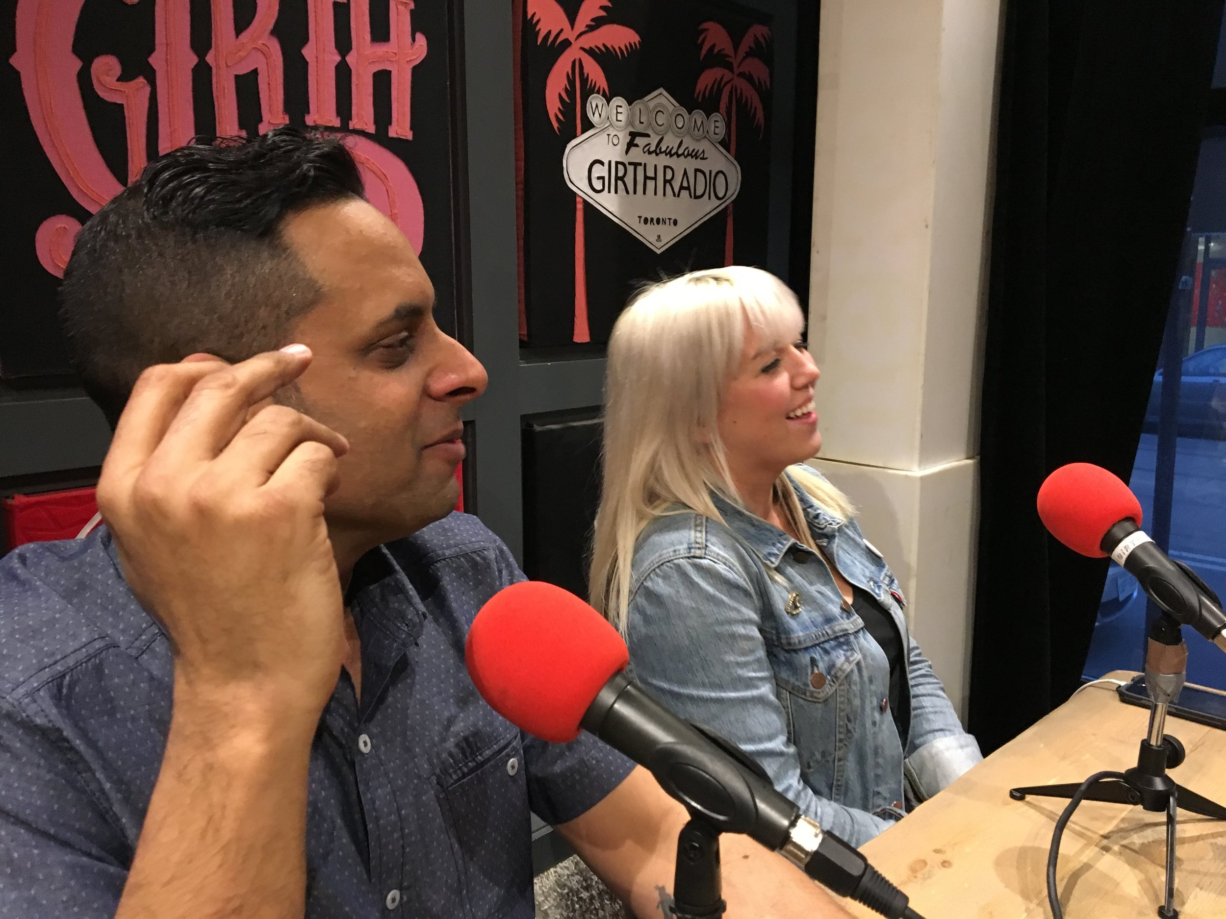 Karim Kanji of Welcome! and Mariah Owen of GTE. Productions join us in studio this week.