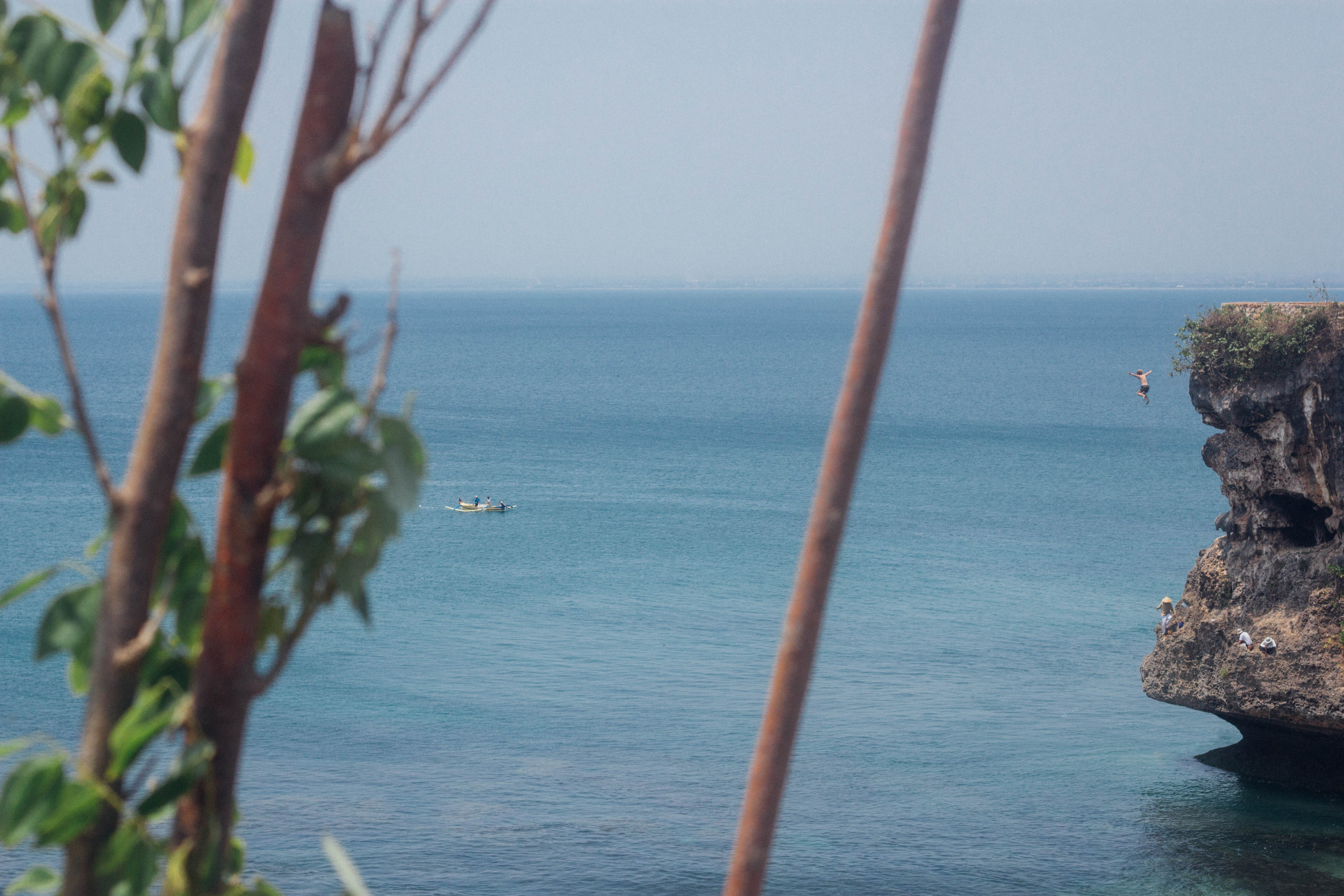 Cliff jumping in Indo the other day...Definitely felt alive in this moment!