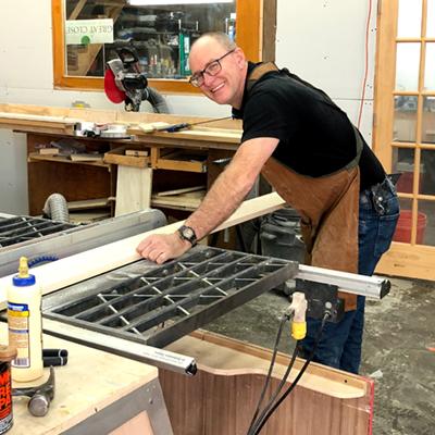 Mark Goderre, Master Carpenter