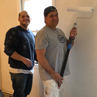 Micha Wall, Installer - Jeff Sember, Painter