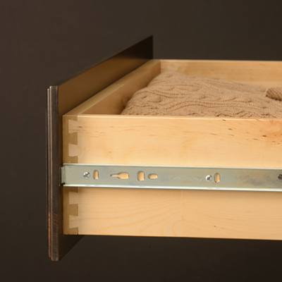 DOVETAIL  CARPENTRY - Dovetail joints are one of the strongest joints used in cabinetry construction and are widely considered the best solution for a cabinet drawer box.