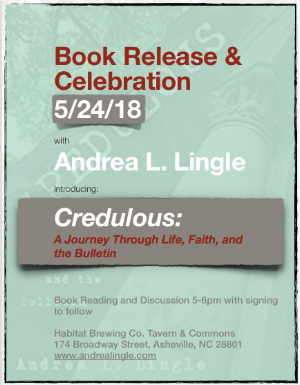 Join me - For a book reading!!Habitat Brewing Co. Tavern & Commons174 Broadway Street, Asheville, NC 28801
