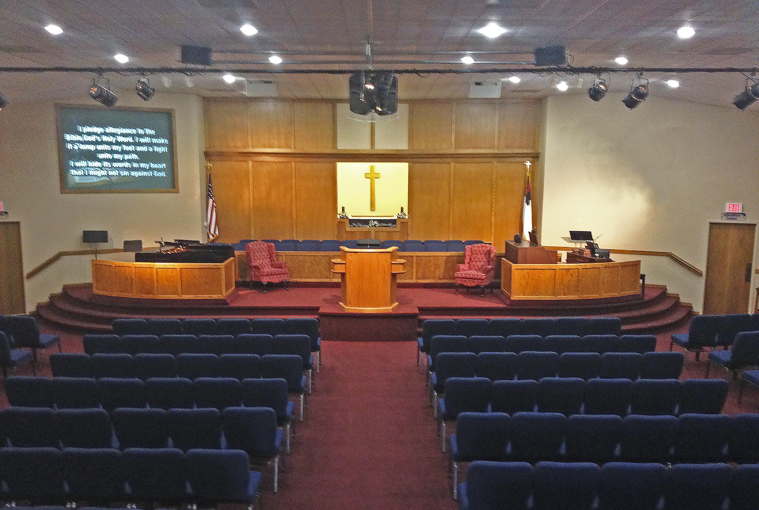Remodeled Sanctuary