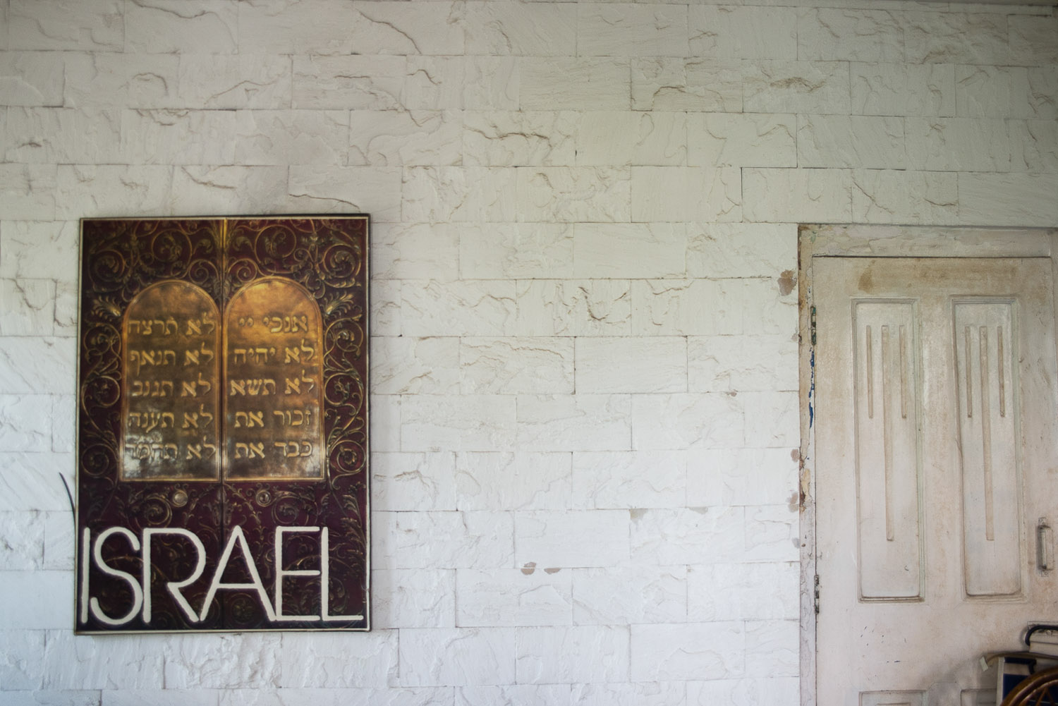 any Jewish homes in Mumbai have artwork dedicated to Israel, as a constant reminder of the Jewish homeland.