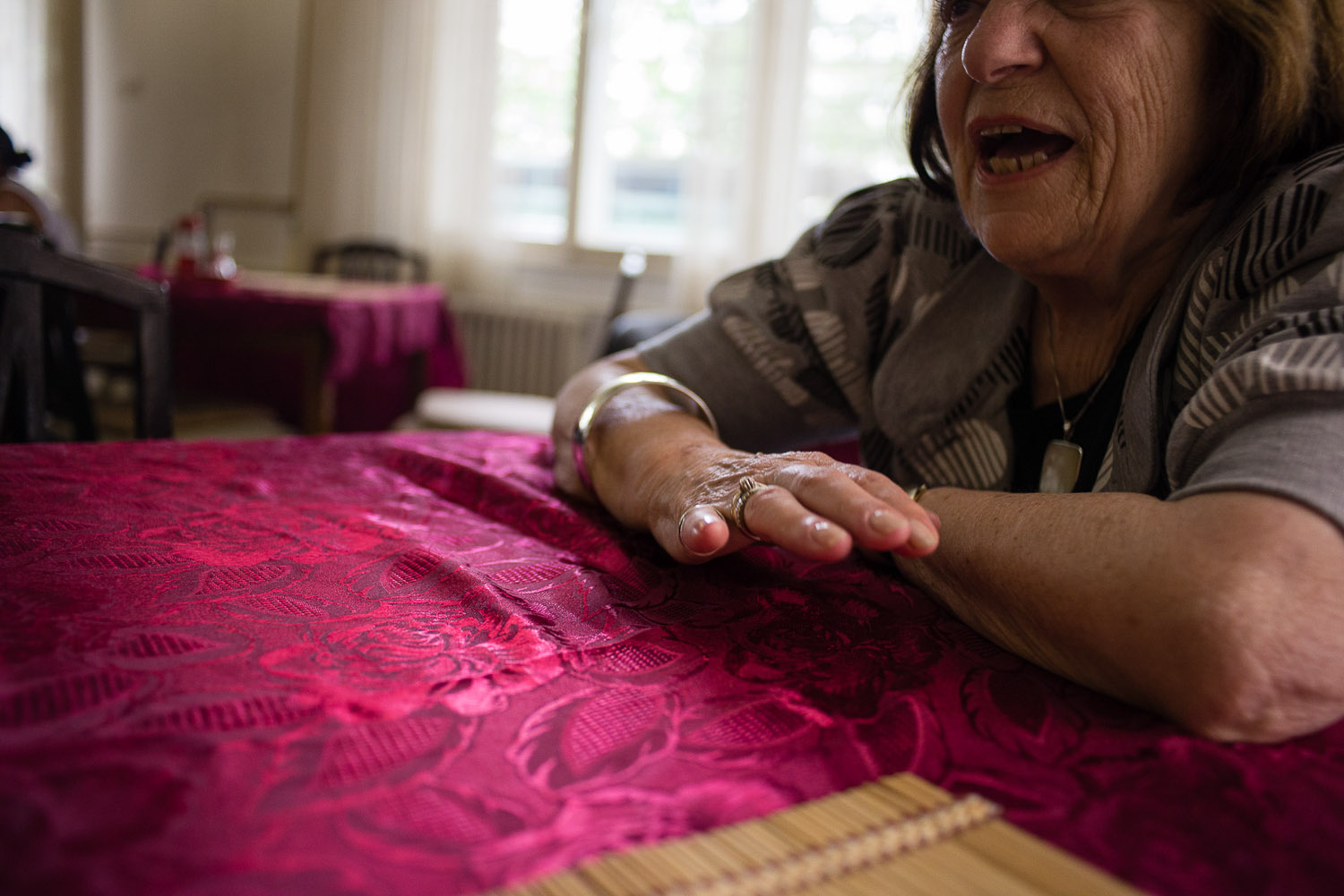Erna Debevec is one of the only remaining members of the community who still speaks Ladino (Judeo-Spanish), the traditional language of Sephardic Jews.