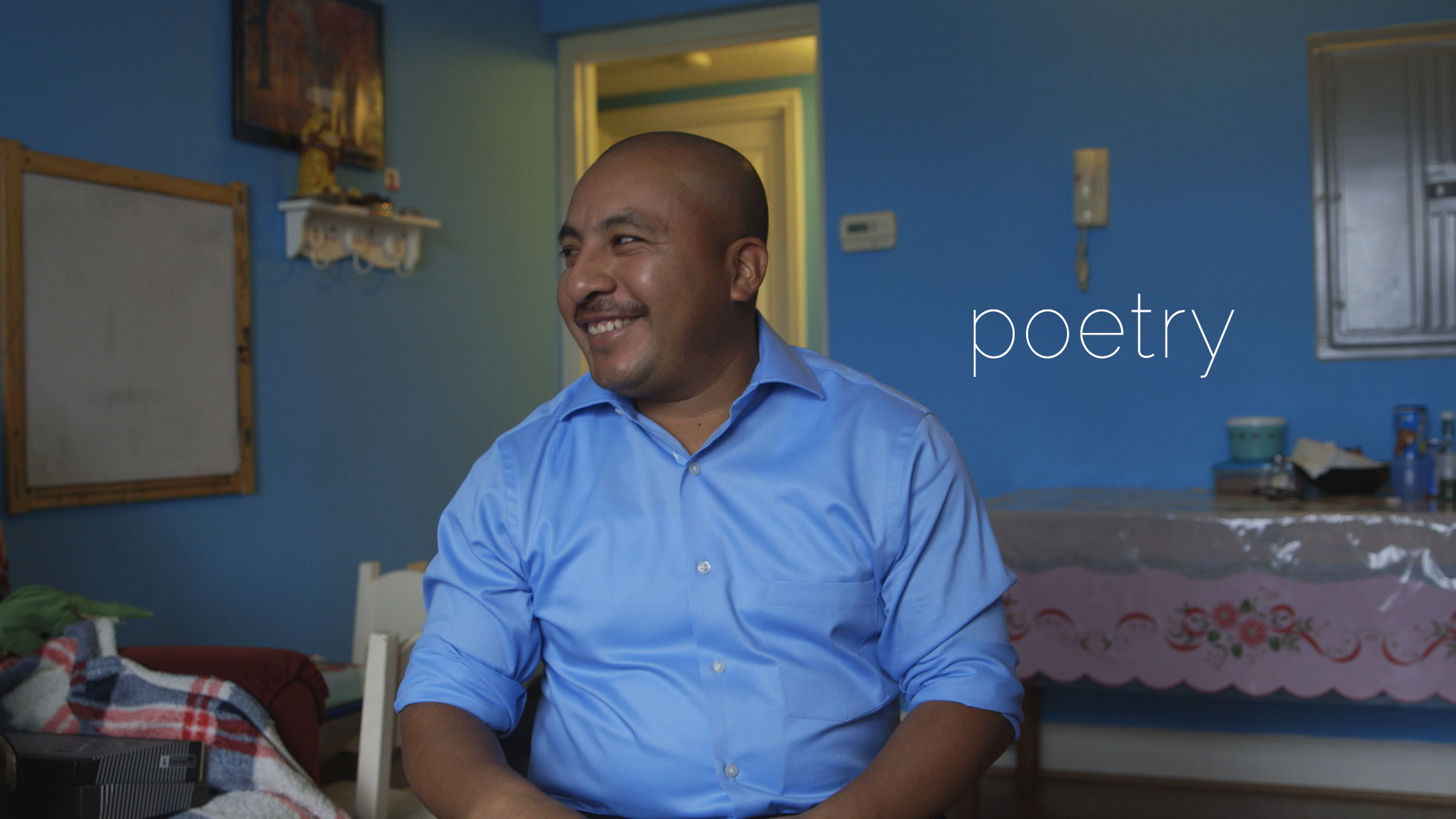 Fleeing extreme poverty in Guatemala, Obispo migrated illegally to the US without speaking English or Spanish. He only spoke Mam, a Mayan language. After learning how to read and write in Spanish, he fell in love with poetry, which has become his way to regain a sense of freedom.