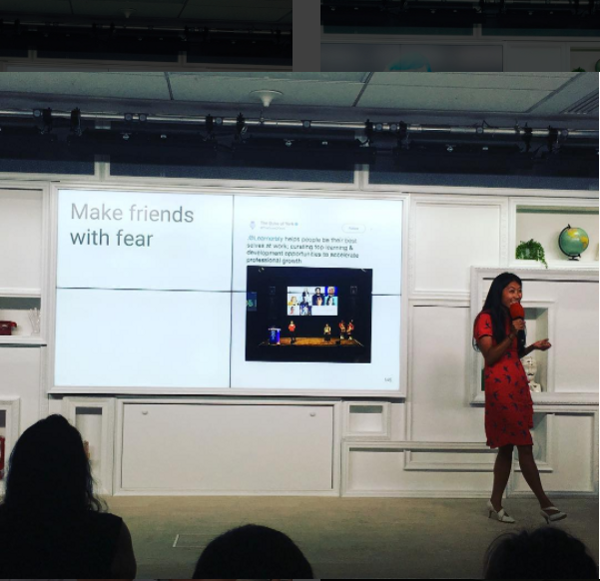 Connecting with queer women to grow their confidence at Google in Paris