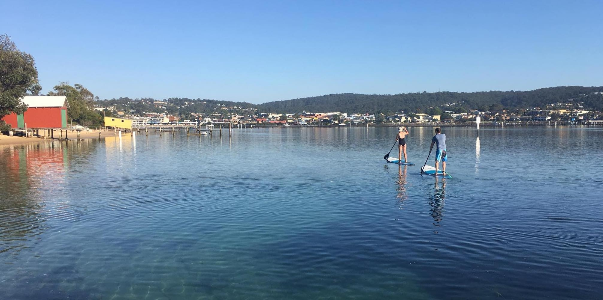 SUP Hire at Mitchies Jetty, Merimbula