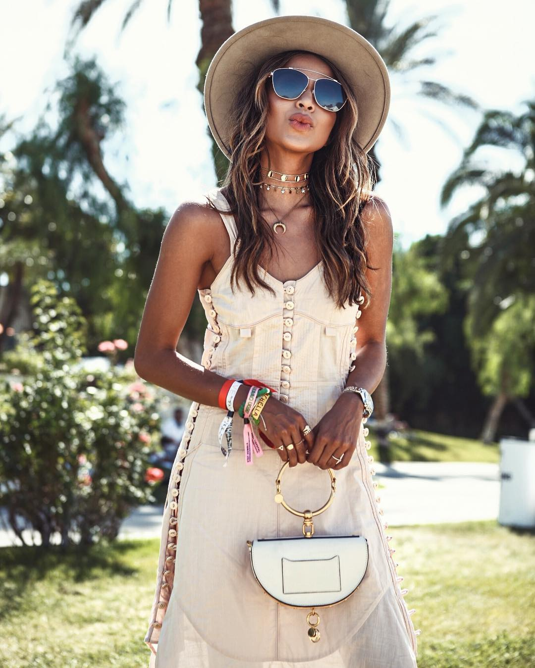 SINCERELY JULES OUTFIT COACHELLA 2017