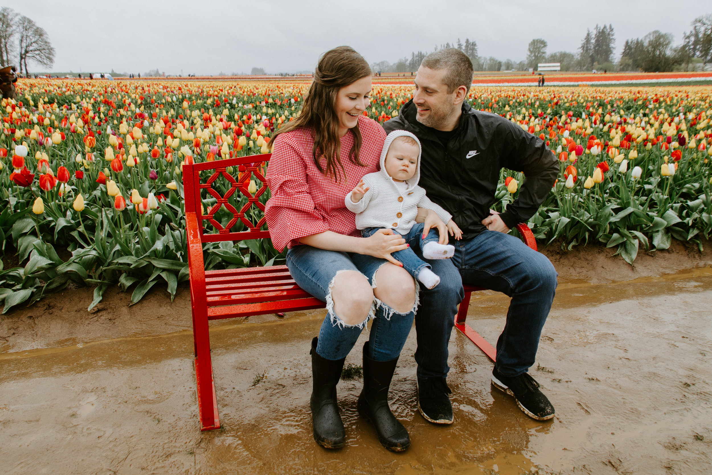StylebyJulianne Tulip Festival Family Photo