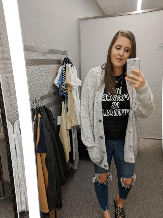 Grey BP Sweater Nordstrom Anniversary Sale Style By Julianne