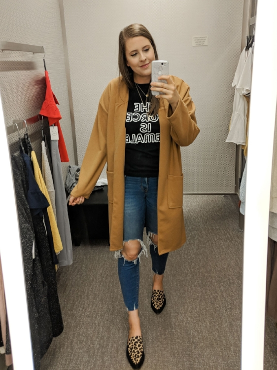 Leith Camel Jacket Nordstrom Anniversary Sale Style By Julianne
