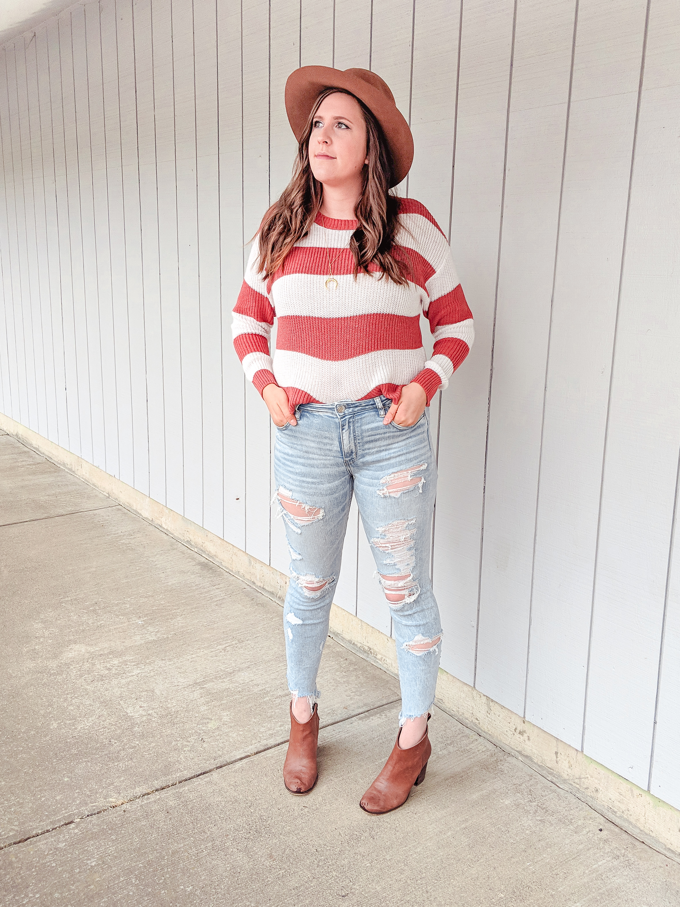 Striped Sweater Fall Fashion StylebyJulianne