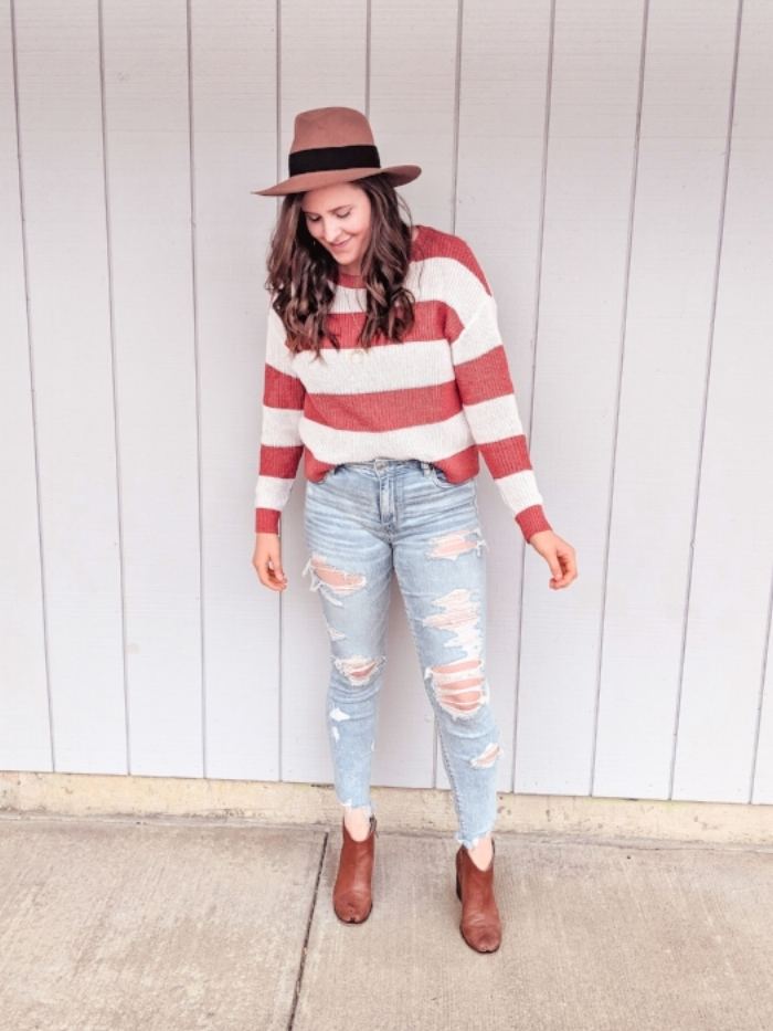 Fall Transitional Outfit Style by Julianne
