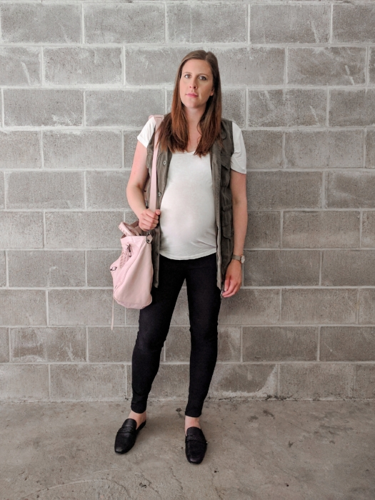 9 Months Pregnant OOTD Style By Julianne