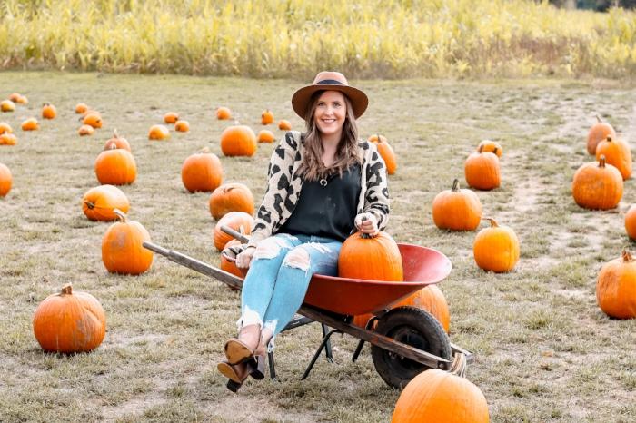 Style by Julianne Pumpkins in Wheelbarrow Fall 2018