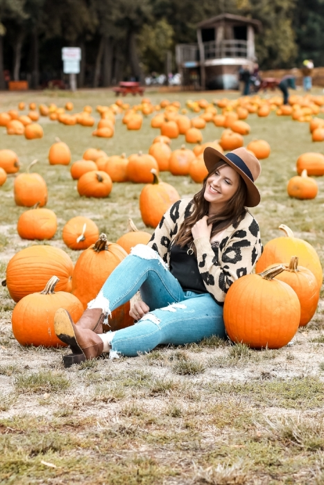 Pumpkin Patch Style by Julianne Fall Outfit 2018