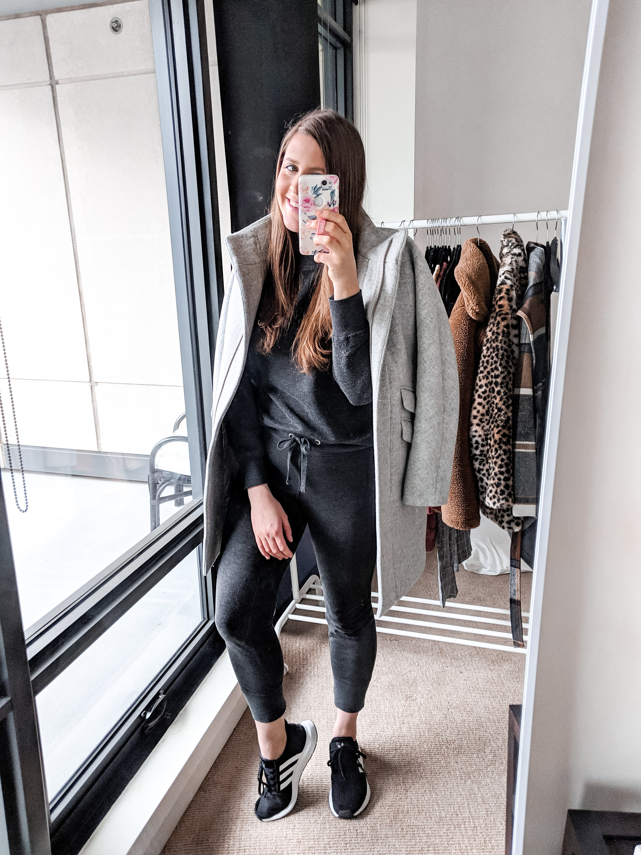 athleisure outfit matching set top and bottom stylebyjulianne