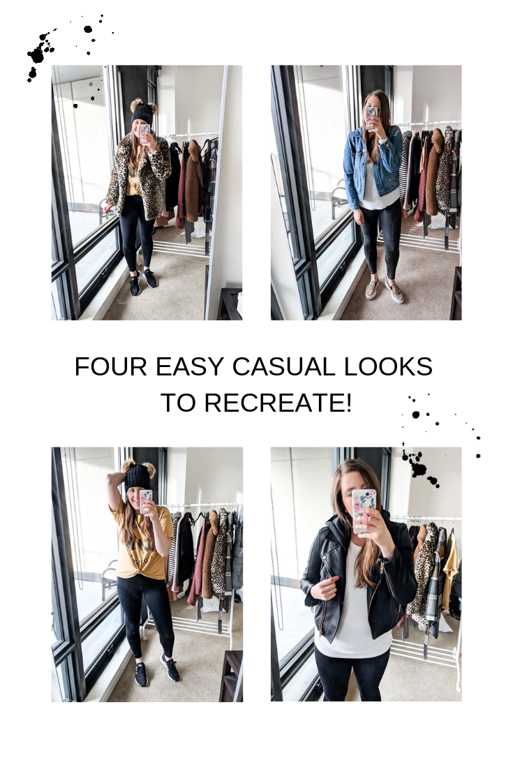 Pinterest four casual easy to recreate athleisure looks @stylebyjulianne
