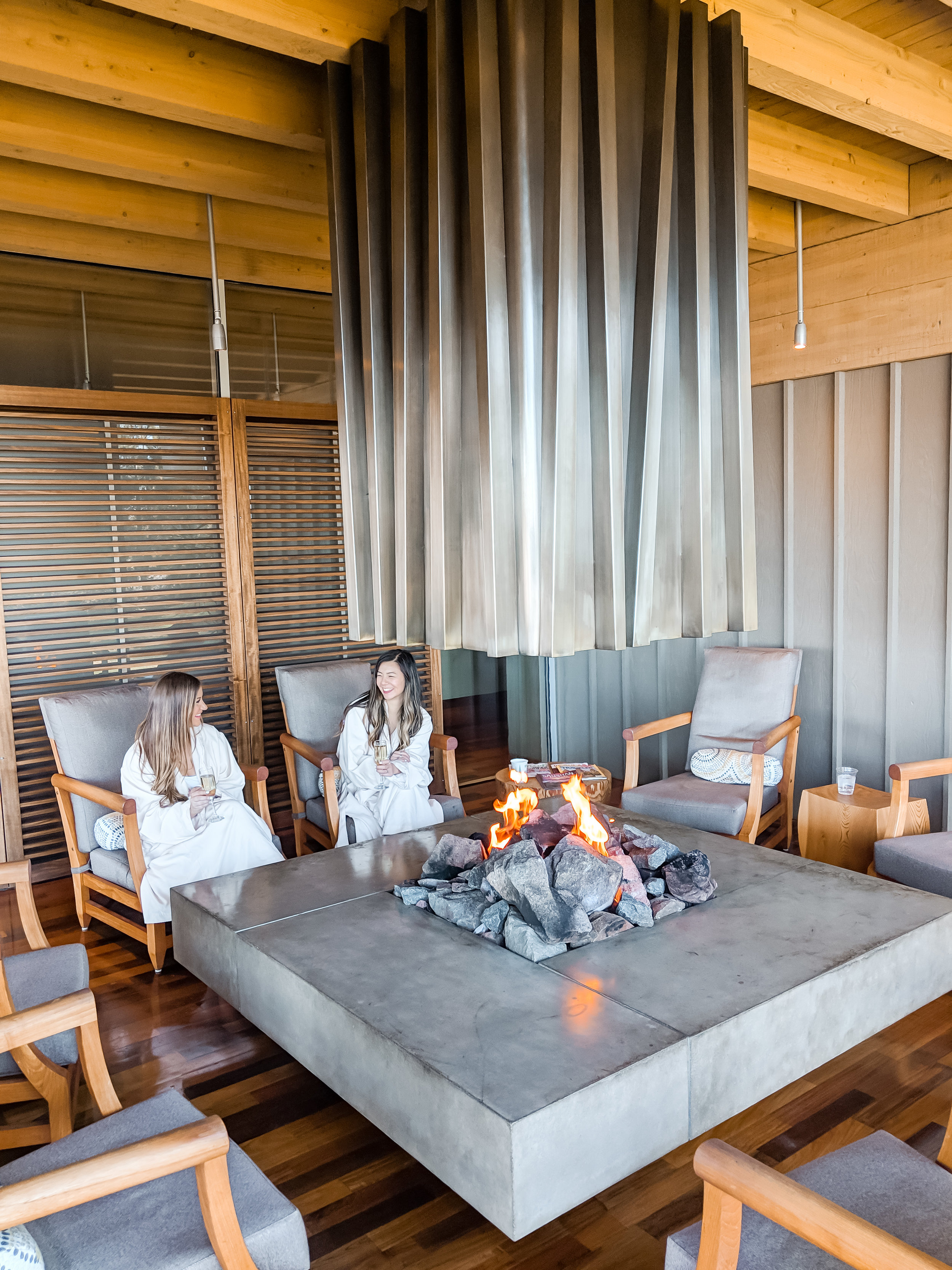 Salishan Spa Hearth Room