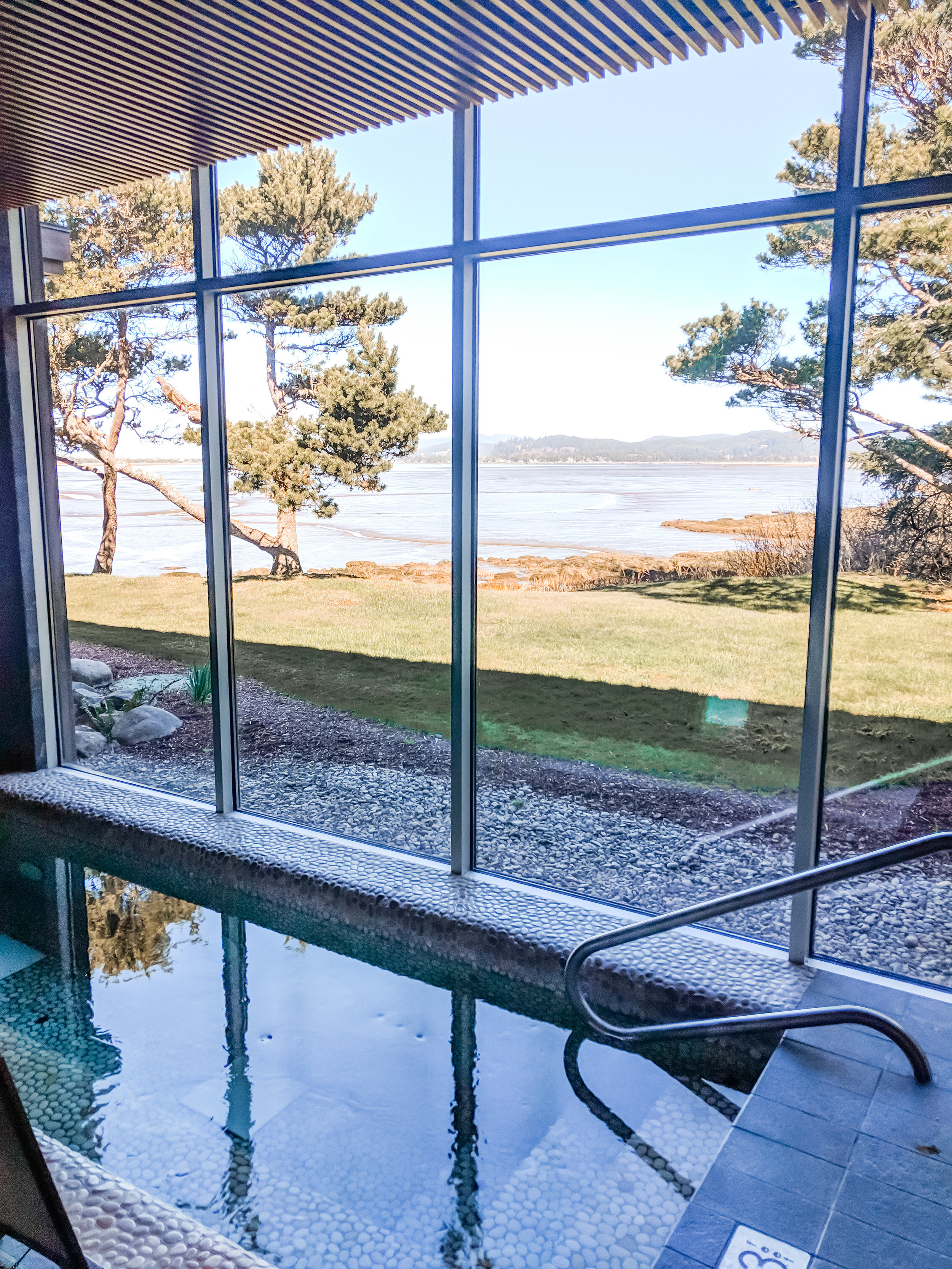 Salishan Spa Soaking Pool