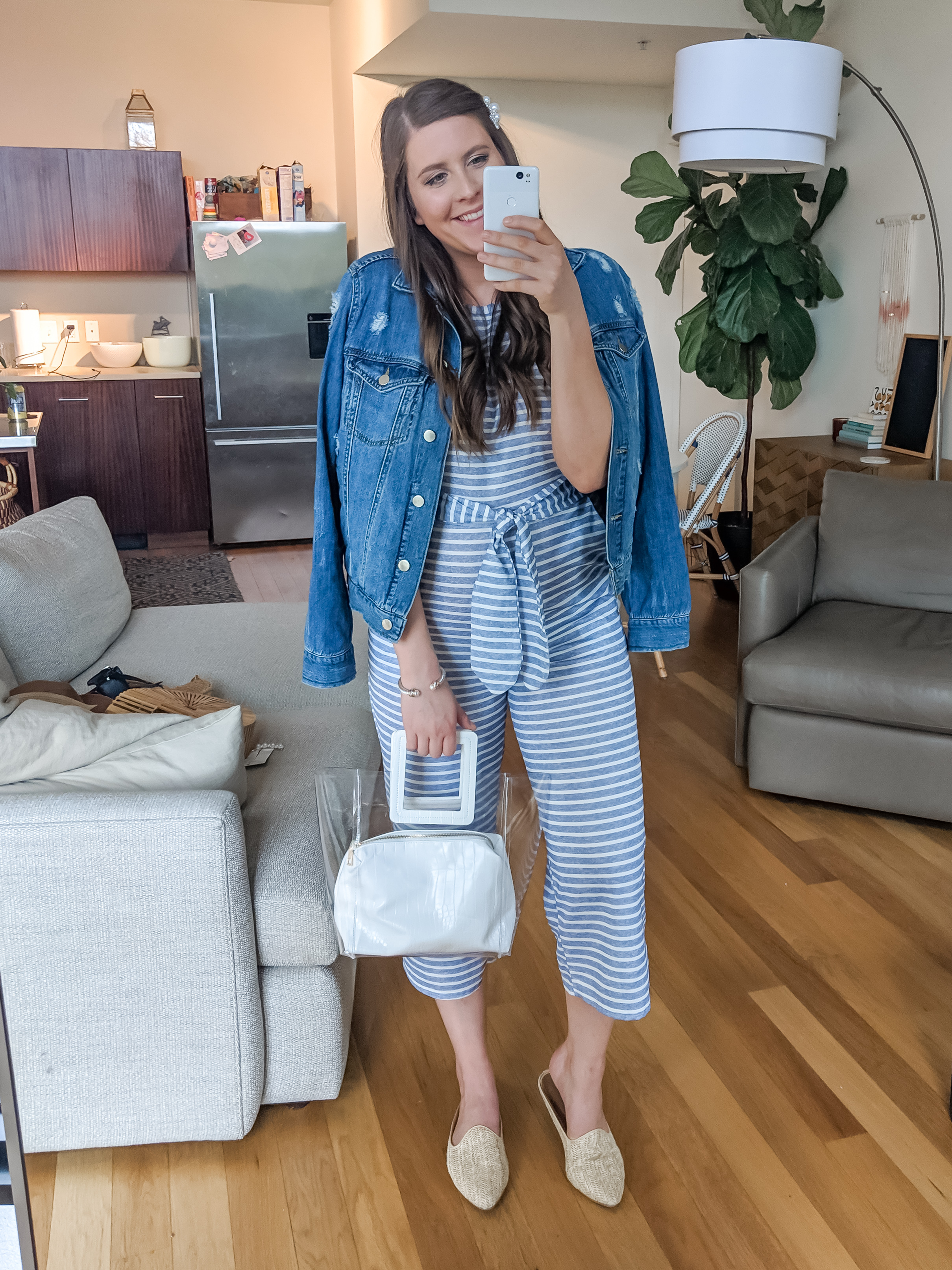 Striped Jumpsuit Amazon Spring Outfit
