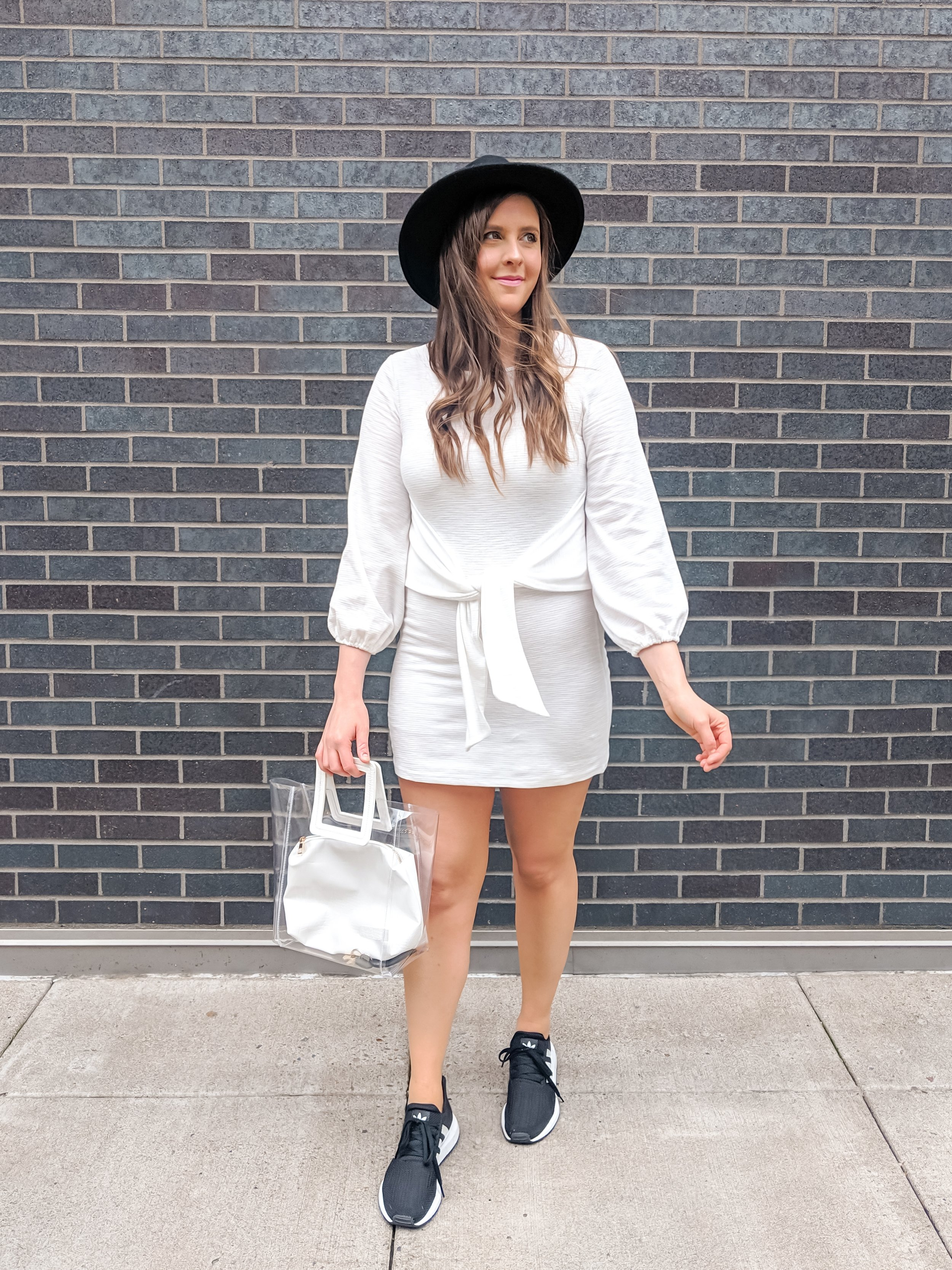 Amazon White Mini Dress @stylebyjulianne