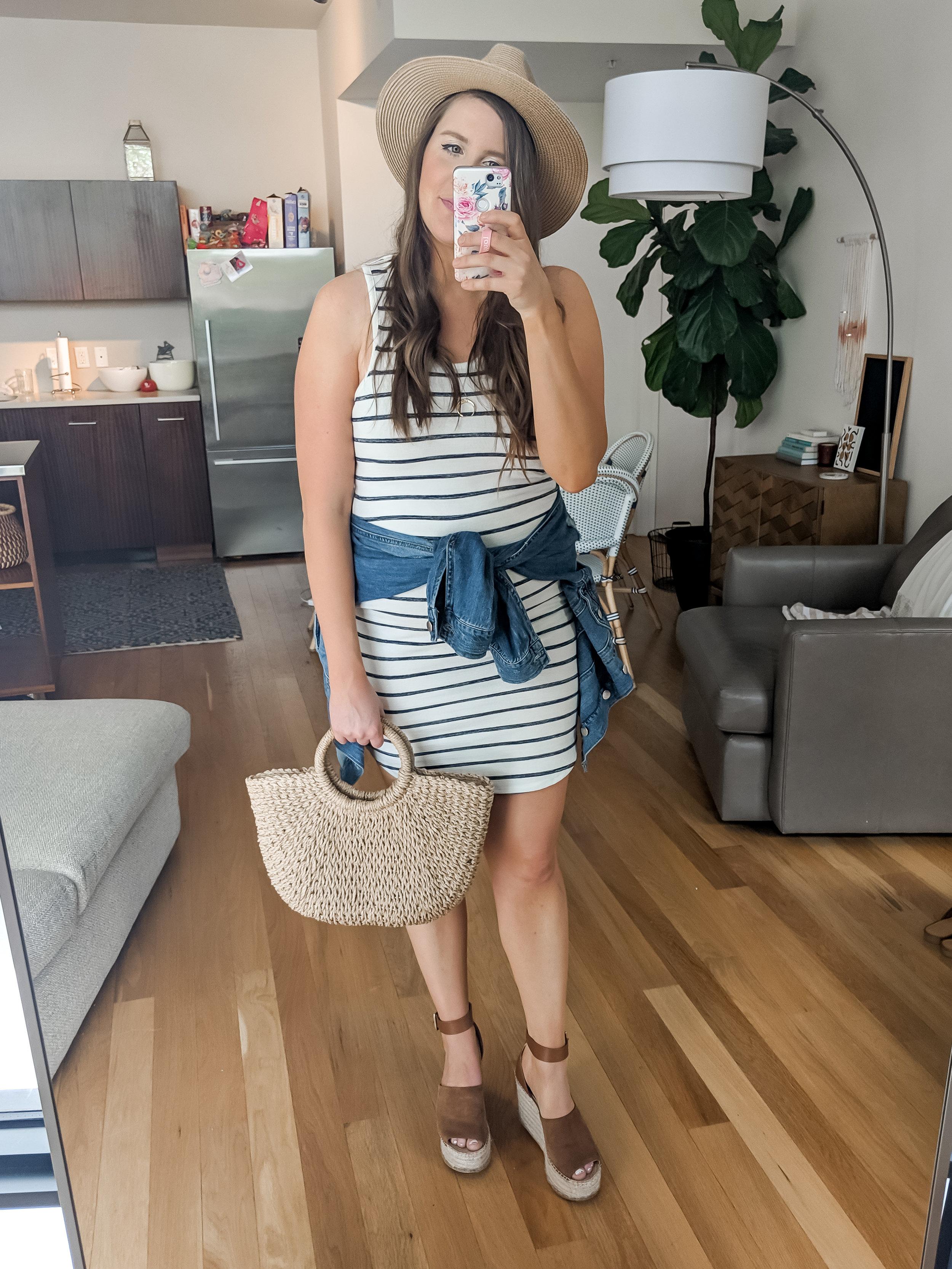 Target Spring Striped T Shirt Dress