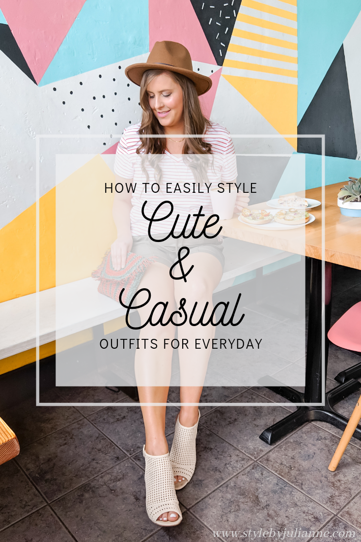 Cute and Casual Outfit Ideas! www.stylebyjulianne.com