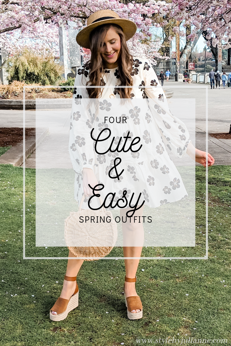 Cute and Easy Spring Outfits that Anyone Can Recreate! www.stylebyjulianne.com