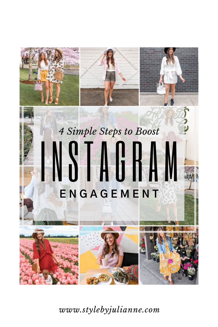 How to Increase Instagram Engagement, 4 Easy Steps! www.stylebyjulianne.com