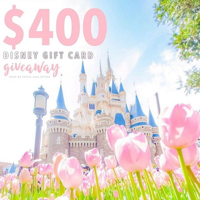 Who's ready for a day at the most magical place on earth? 🐭🏰🎠$400 Disney Gift card or $400 PayPal cash the choice is up to you! It just takes 30 seconds to enter!  To enter  1️⃣ Follow me @ 2️⃣ Like this post ❤️ 3️⃣ Go to @gotta.have.it.giveaways and follow all directions  4️⃣ Tell us who your Disney Bestie is, TAG THEM! • • • #disneyland #disneyworld #disney #disneylife #disneyphotography #disneychannel #disneyfood #disneyinsta #disneybound #disneystore #disneystyle #disneyparks #disneymagic #disneyfan #disneylove #disneyprincesses #tokyodisneyland #disneylandparis #waltdisneyworld #waltdisney #waltdisneystudios #magickingdom #animalkingdom #hollywoodstudios #mickeymouse #mickeyears #disneyprinces #disneygram #disneyaddict