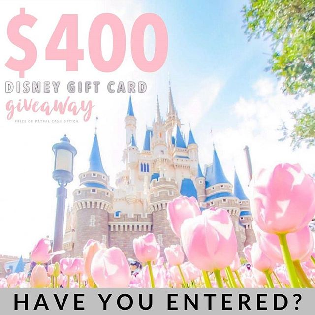 Calling all Disney lovers this is for you! 🐭🏰$400Disney Gift card or $400 PayPal cash the choice is up to you! It just takes 30 seconds to enter!  To enter  1️⃣ Follow me @ 2️⃣ Like this post ❤️ 3️⃣ Go to @gotta.have.it.giveaways and follow all directions  EXTRA ENTRY: Tell us who you would take to Disney with you, TAG THEM! • • • #happy #adventure #disneymagic #disneylife #disneyphoto #disneyland #thehappiestplaceonearth #disneyxmas #instadisney #waltdisneyworld #amazing #snowwhite #love #disneyside #disneyig #myhappyplace #travelling #cool #visit #trip #disneypic #disneyparks #disneyaddict #disney #visiting #disneylove #disneyworld #magickingdom #fun