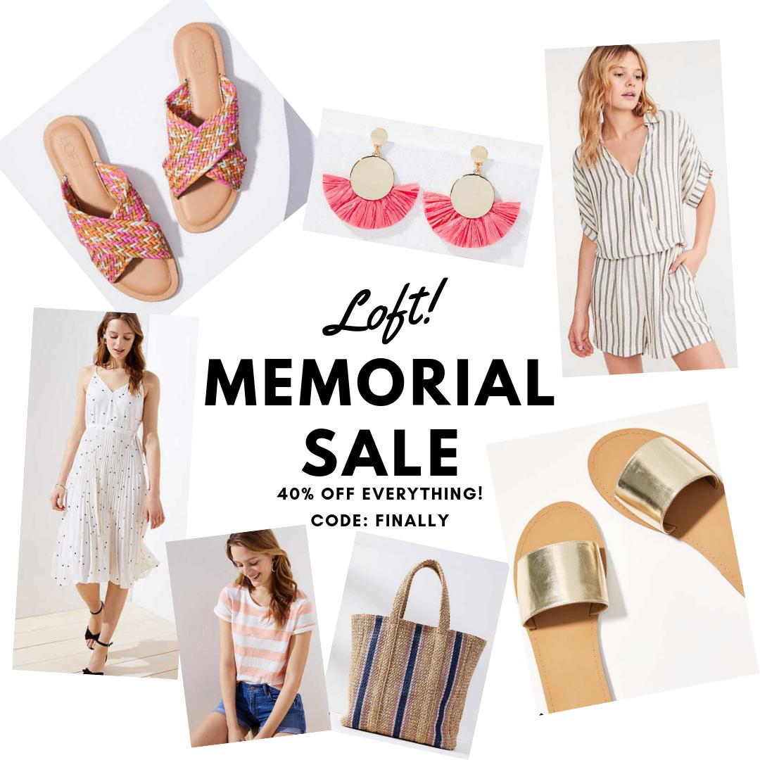 Memorial Sale Loft