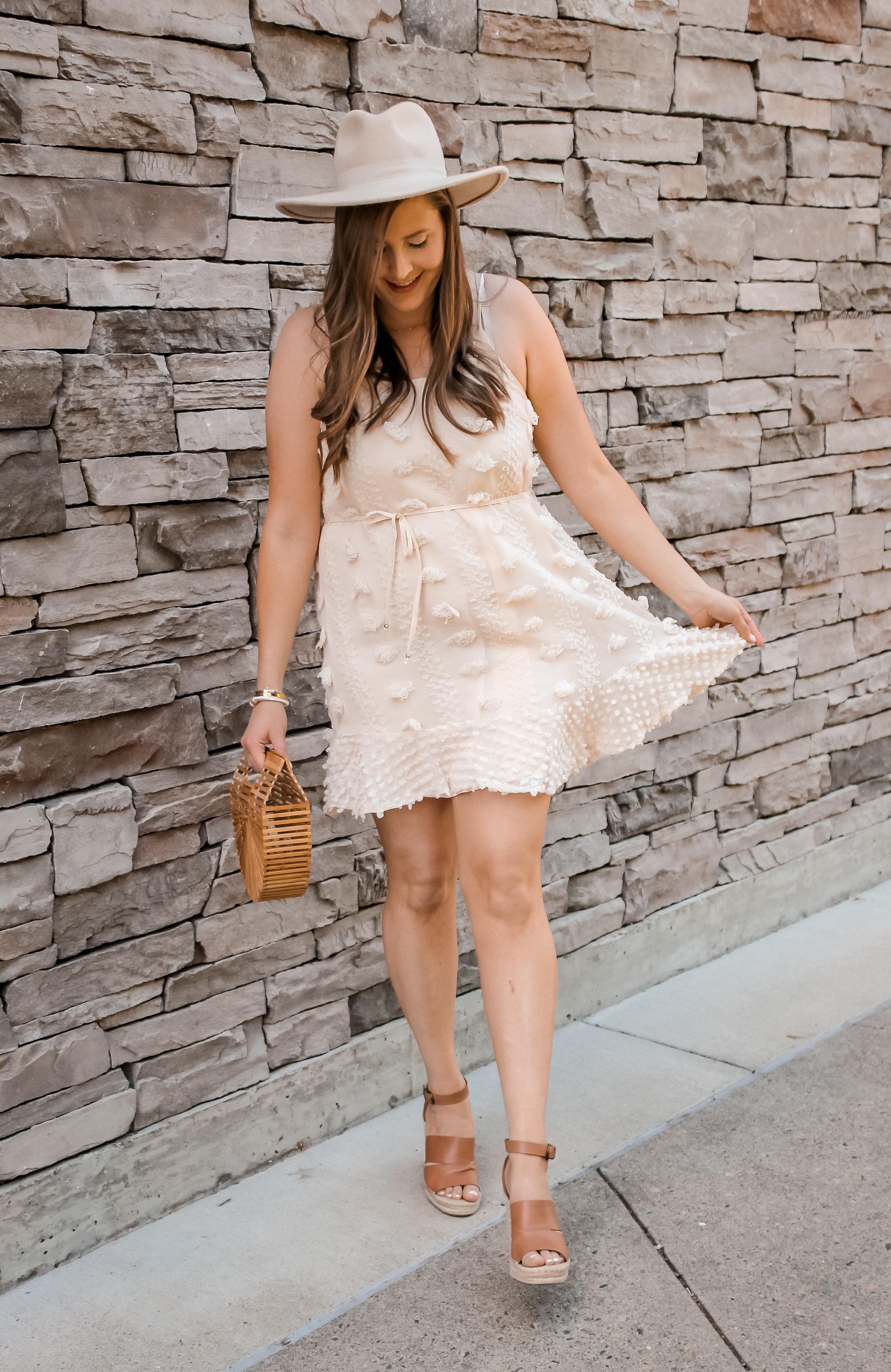 Shein Pom Pom dress