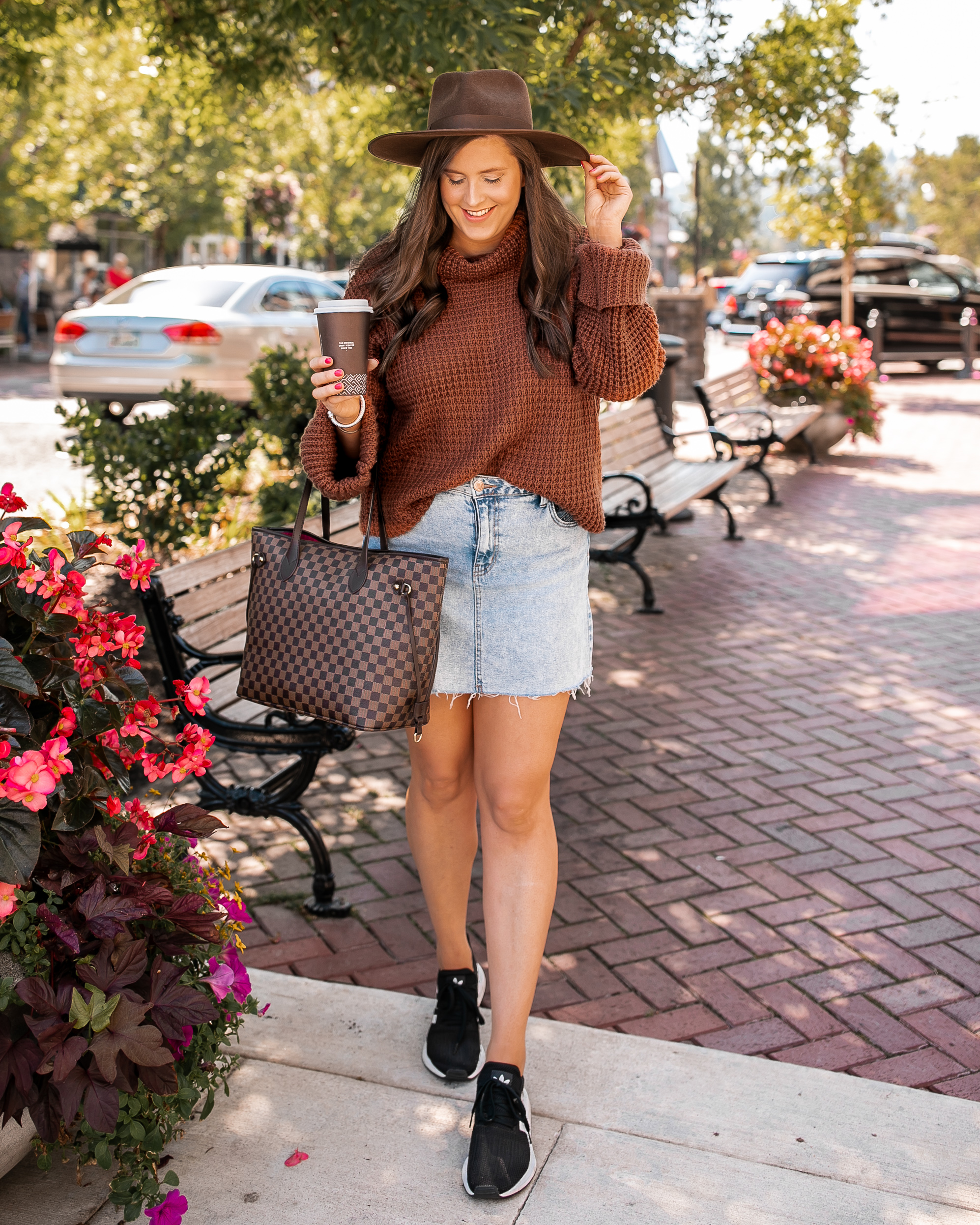 Chunky Knit Sweater Fall Outfit @stylebyjulianne
