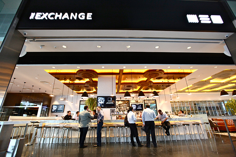 Entrance to The Exchange