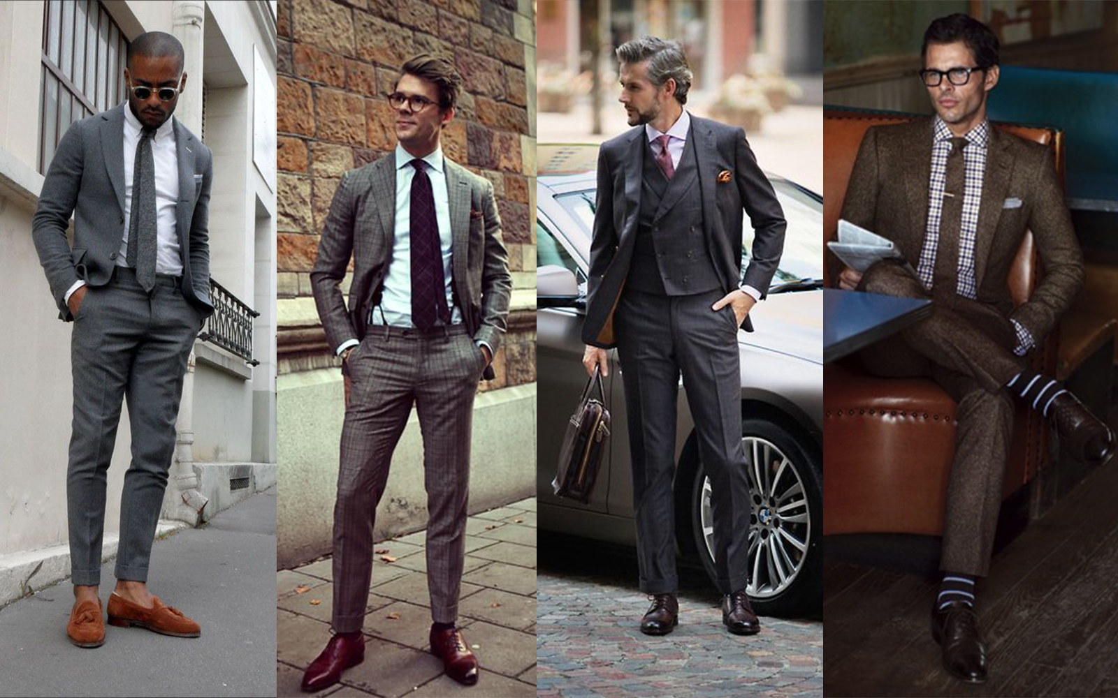 Classic style for gentlemen — or boring wage slave old farts?