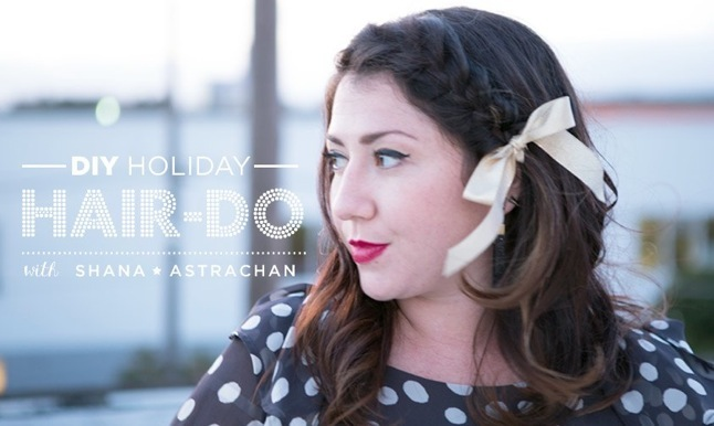 HOLIDAY PARTY HAIR-DO