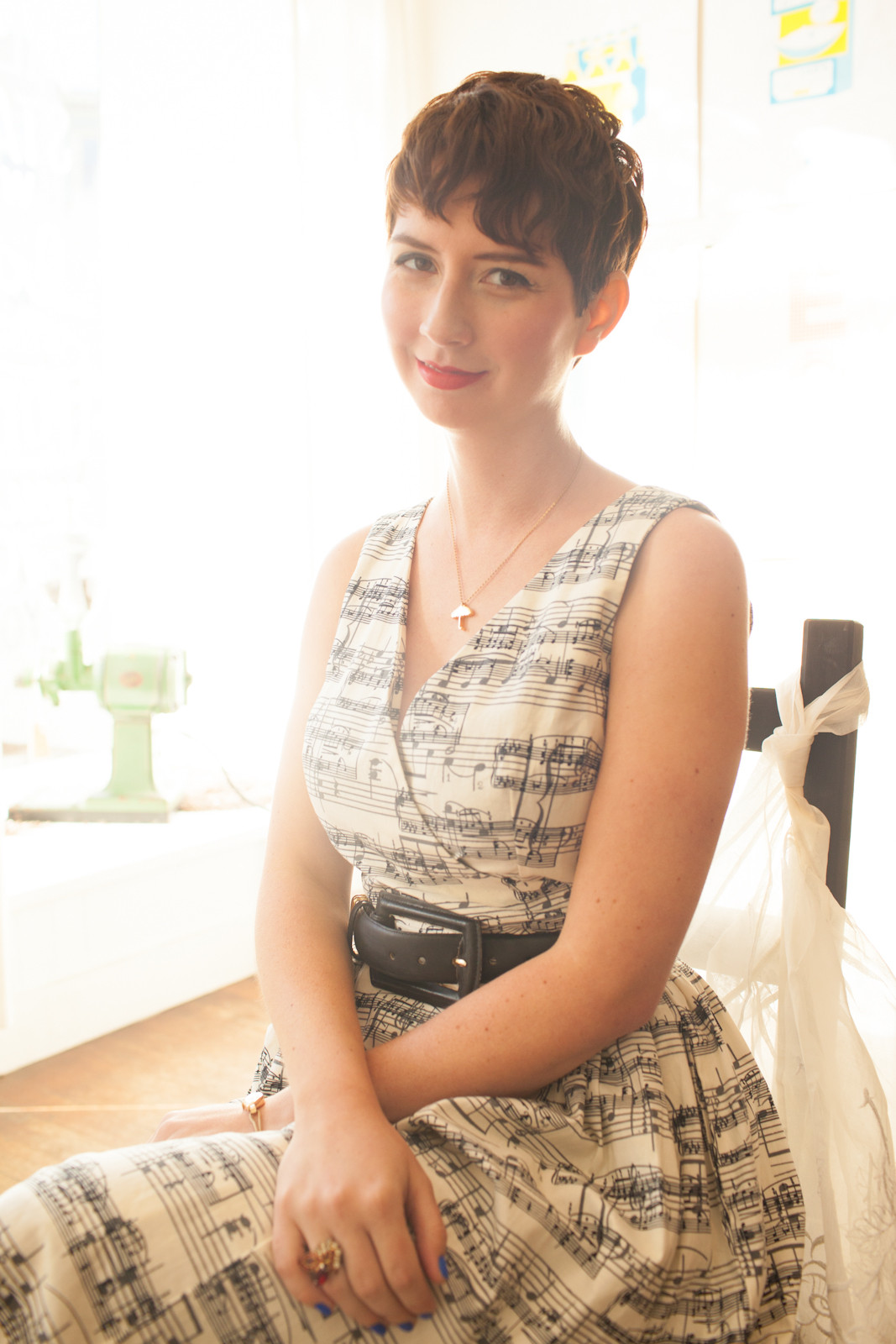 Photographer Anna-Alexia Basile of ModCloth founder Susan Gregg Koger for Refinery29