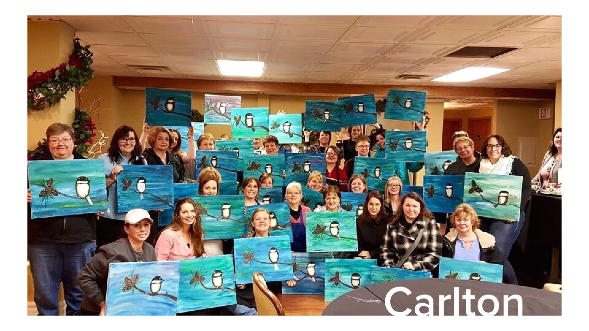 1/18/16 Paint Night at THE PUBLIC HOUSE at 214