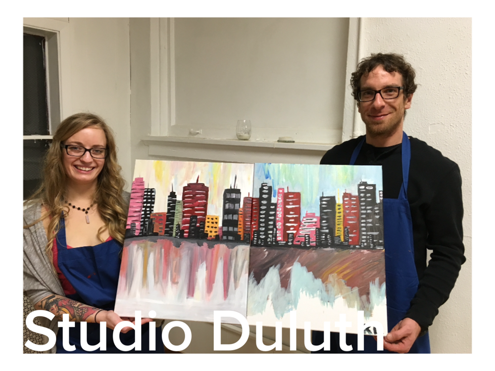 Studio Duluth Couples Paint