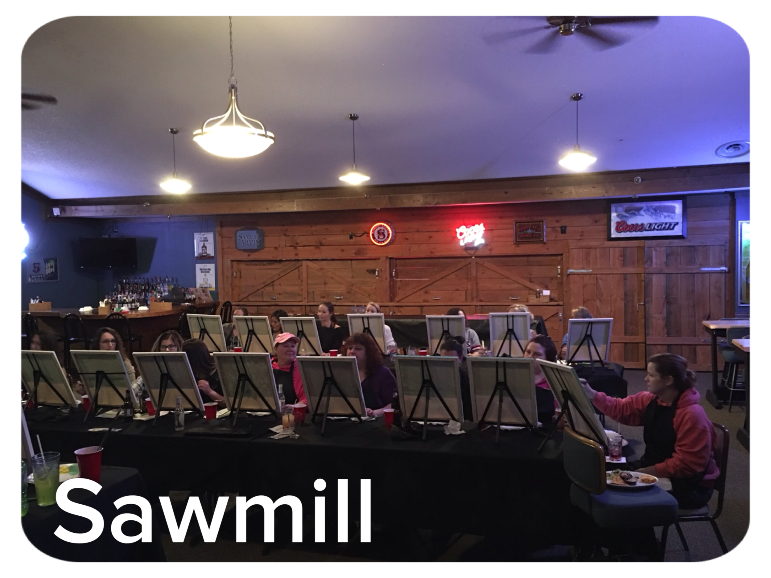 Private party Sawmill