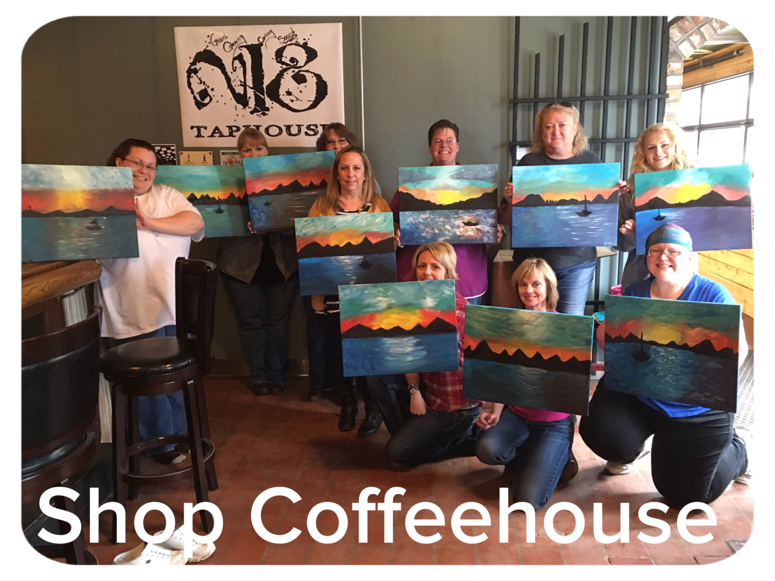 The Shop Coffeehouse afternoon