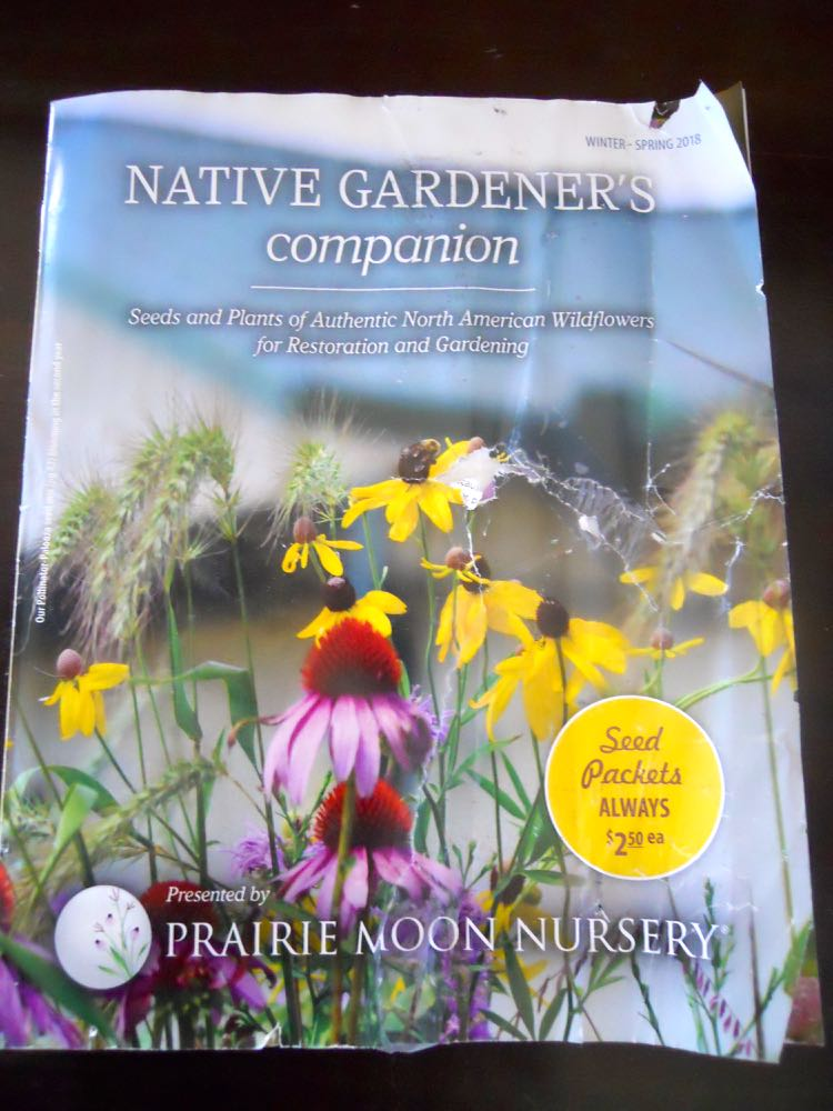 Prairie Moon Nursery's native North American Wildflowers plant catalog with handy guides.