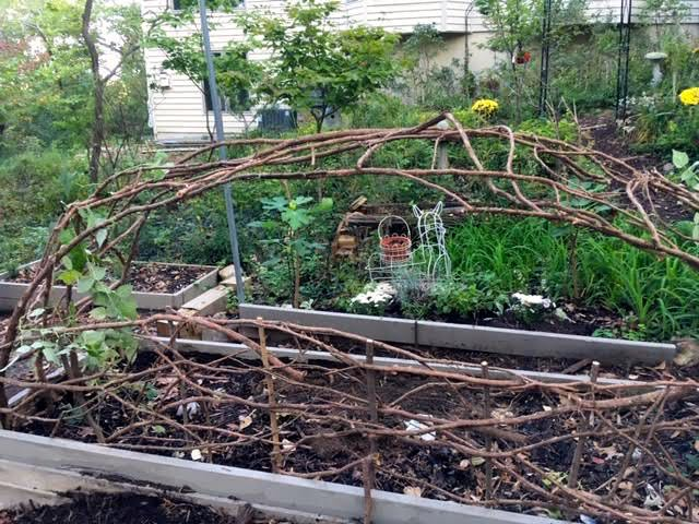 Next came the almost 10-foot back fence. (Photo by Charlotte Ekker Wiggins)