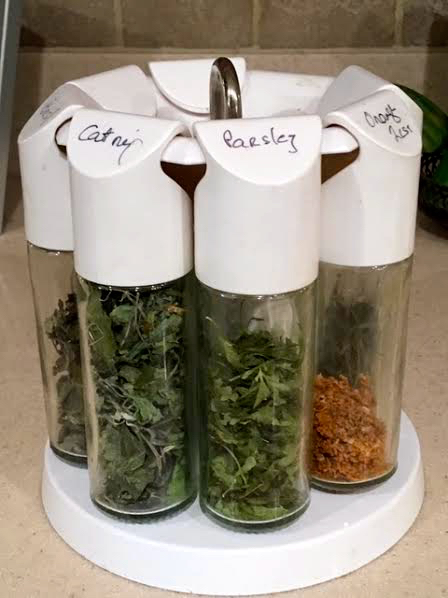 Good time to start drying favorite herbs for winter use. (Photo by Charlotte Ekker Wiggins)