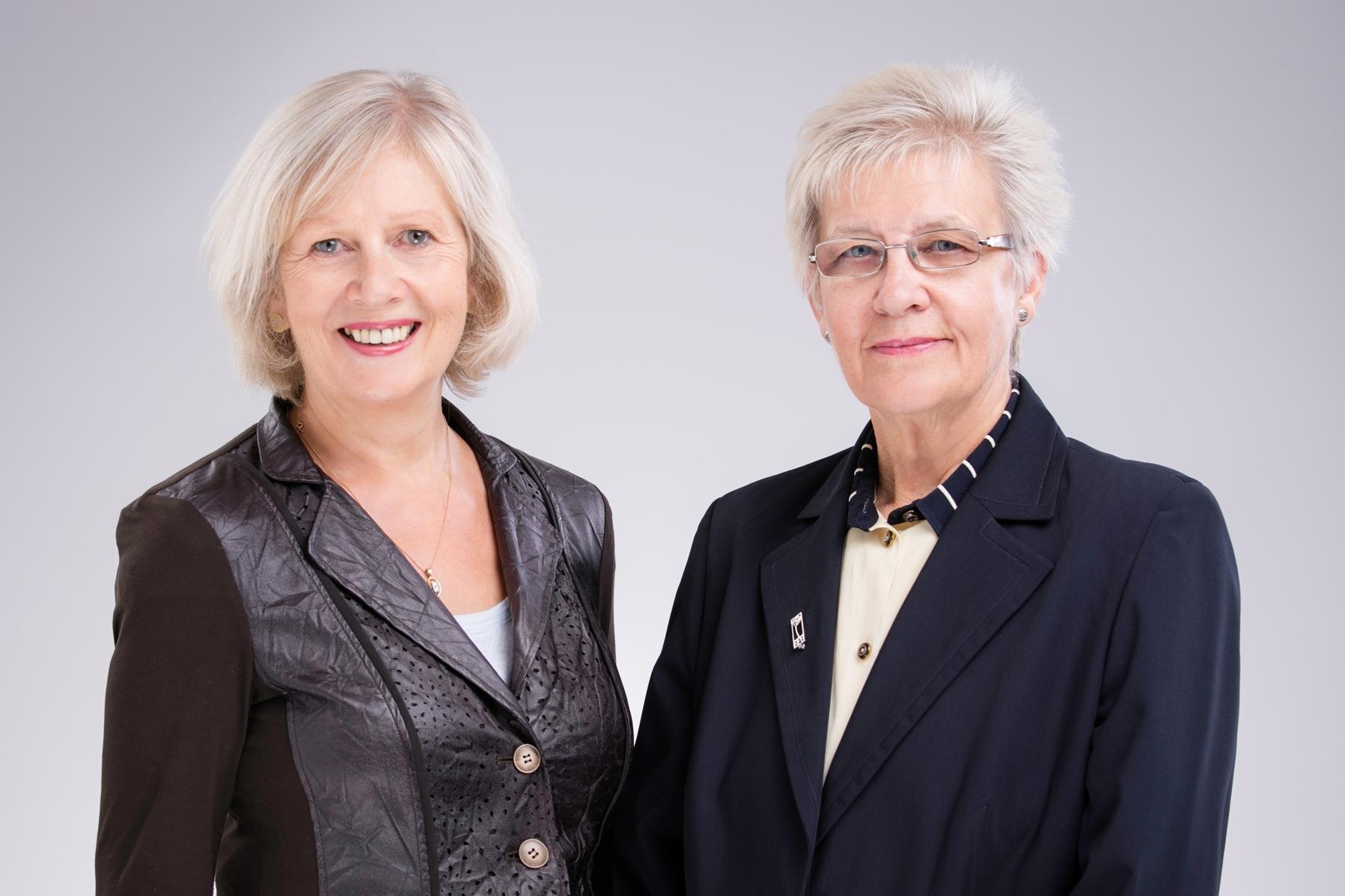 CO-FOUNDERS OF wish:  EVE WARREN & Meg maunder